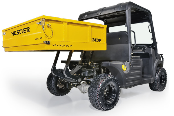 Hustler | Utility Vehicles | Model MDV™ LeveLift™ for sale at Colerain, North Carolina