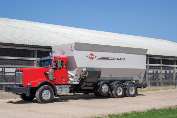 Kuhn | Feed Delivery Boxes | PF 100 Series for sale at Colerain, North Carolina