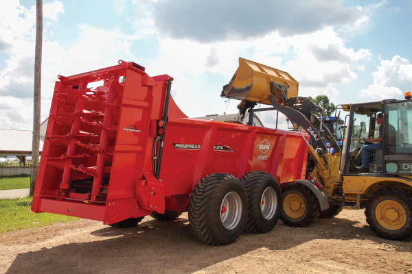 Kuhn | Rear-Discharge Spreaders | PS 250, 260 & 270 for sale at Colerain, North Carolina