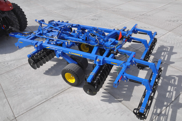 Landoll | Secondary Tillage & Seedbed Preparation | 7500 Series VT Plus (Adjustable Gangs) for sale at Colerain, North Carolina