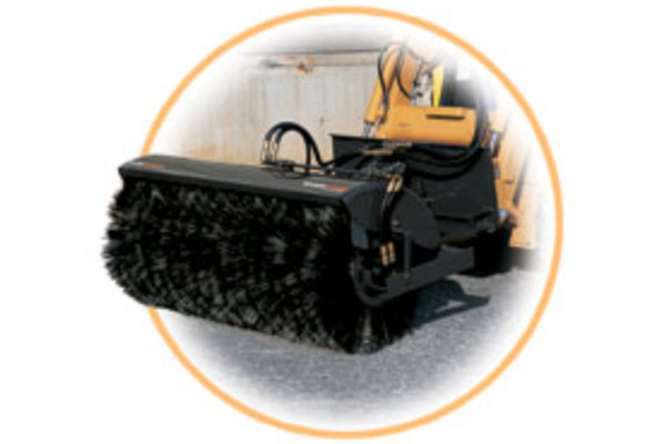 Woods | Skid Steer Attachments | Angle Brooms for sale at Colerain, North Carolina