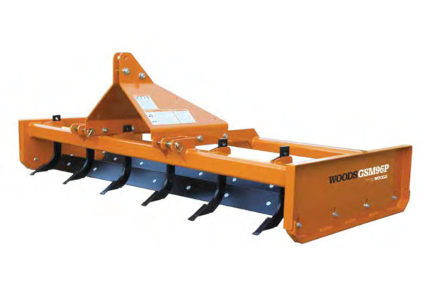 Woods | Grading Scrapers | Model GSM96 for sale at Colerain, North Carolina